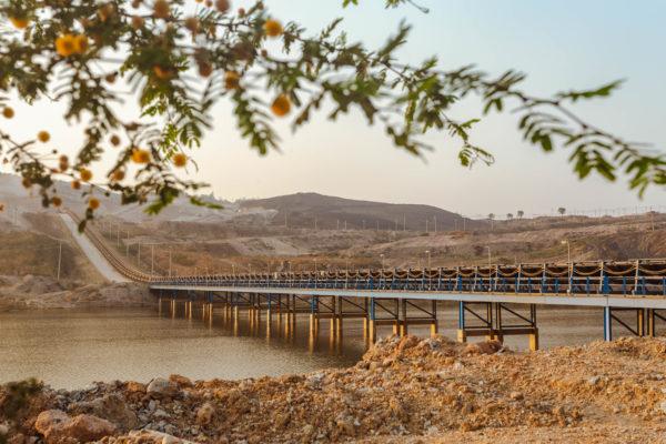 ระบบสายพานที่ใหญ่ที่สุดในเอเชียได้เริ่มขับเคลื่อนกำลังการผลิตแล้ว